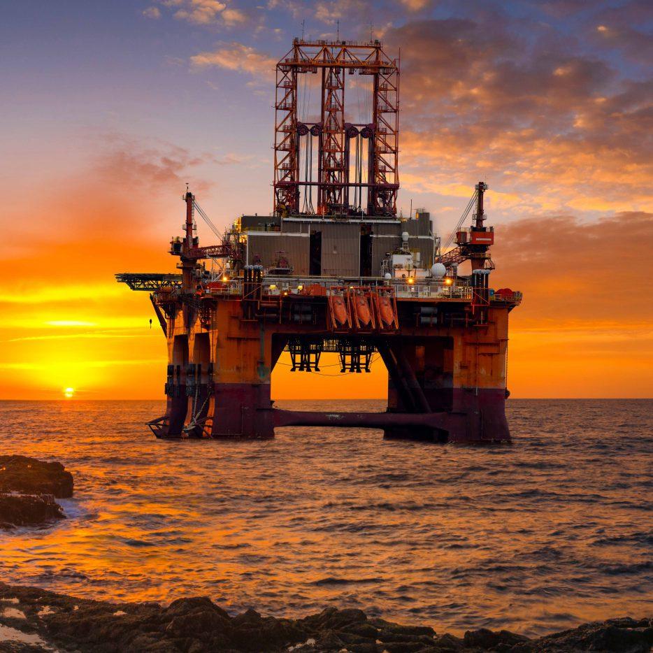 ELCEE offshore locatie op zee