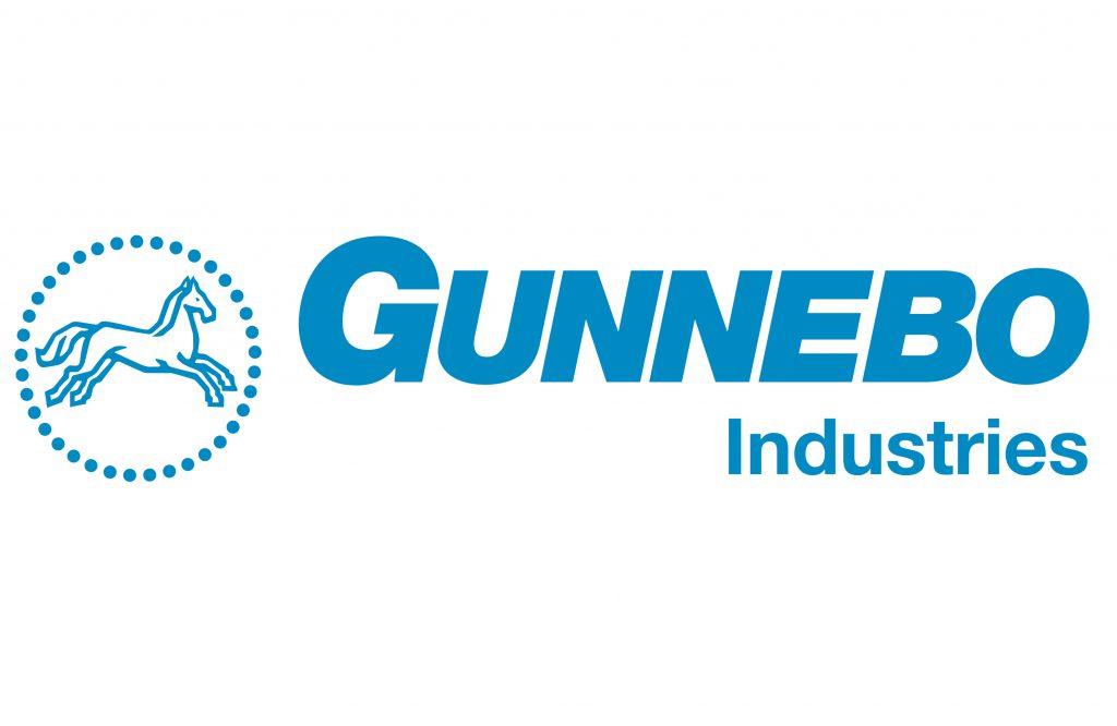 Gunnebo industries logo hijstechniek door ELCEE