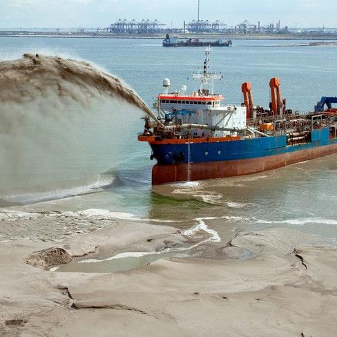 Maritime dredging