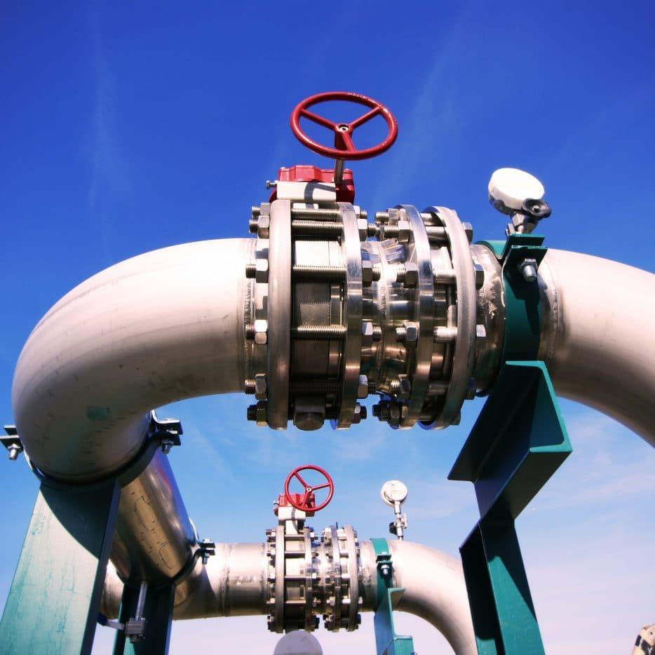 Voorbeeld uit de Offshore industrie met industriële componenten door ELCEE