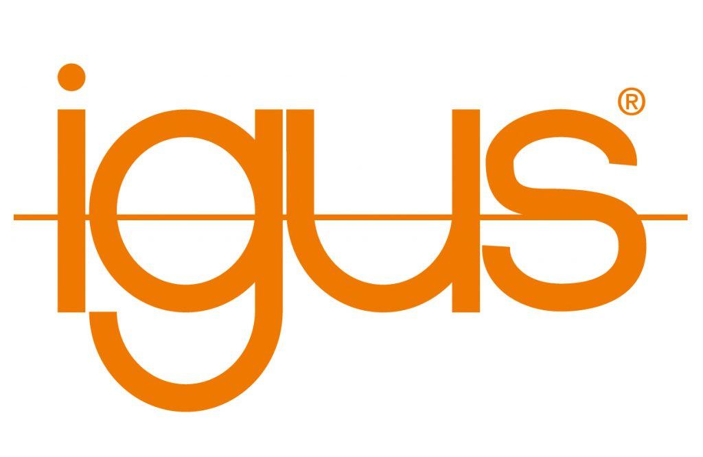 igus-Logo glijlagers oranje