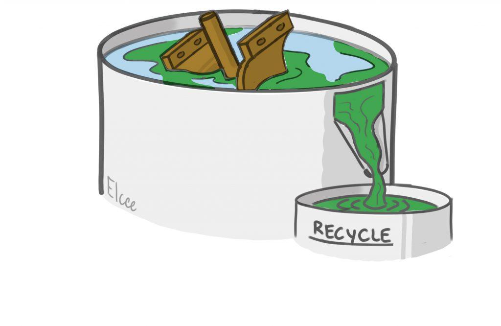 Verloren-was gietproces water glas proces