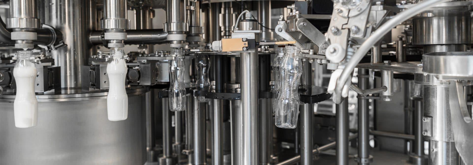 flessenvulmachine met glijlagers, smeedwerk en gietwerk componenten van ELCEE