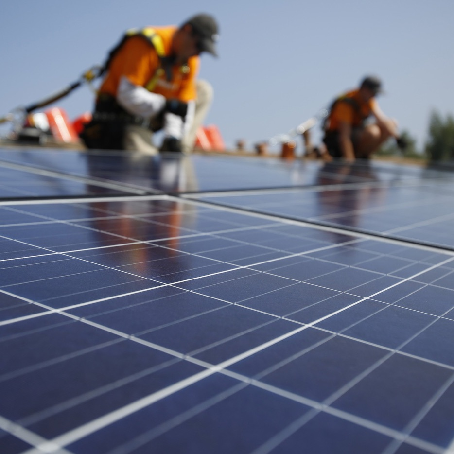 Solar RVS bevestigingsmaterialen in zonnepanelen door ELCEE