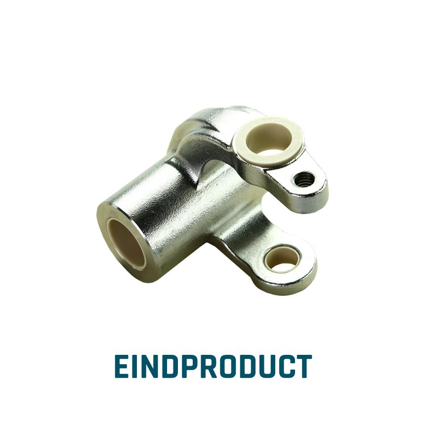 ELCEE eindproduct voorbeeld van een assemblage industrieel component