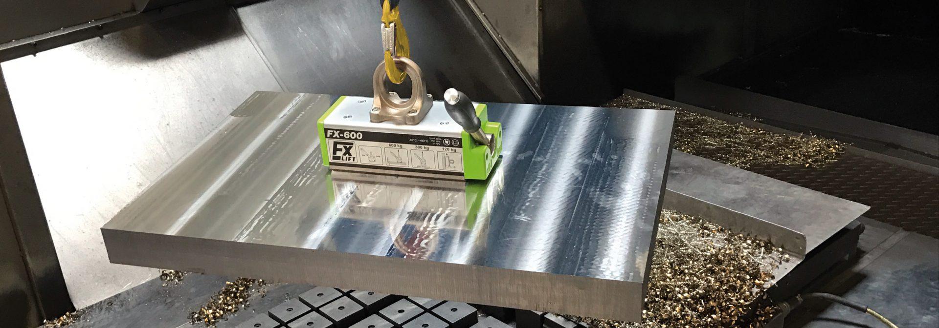 Toepassing flaig hefmagneet FX-600 met gunnebo haak via ELCEE