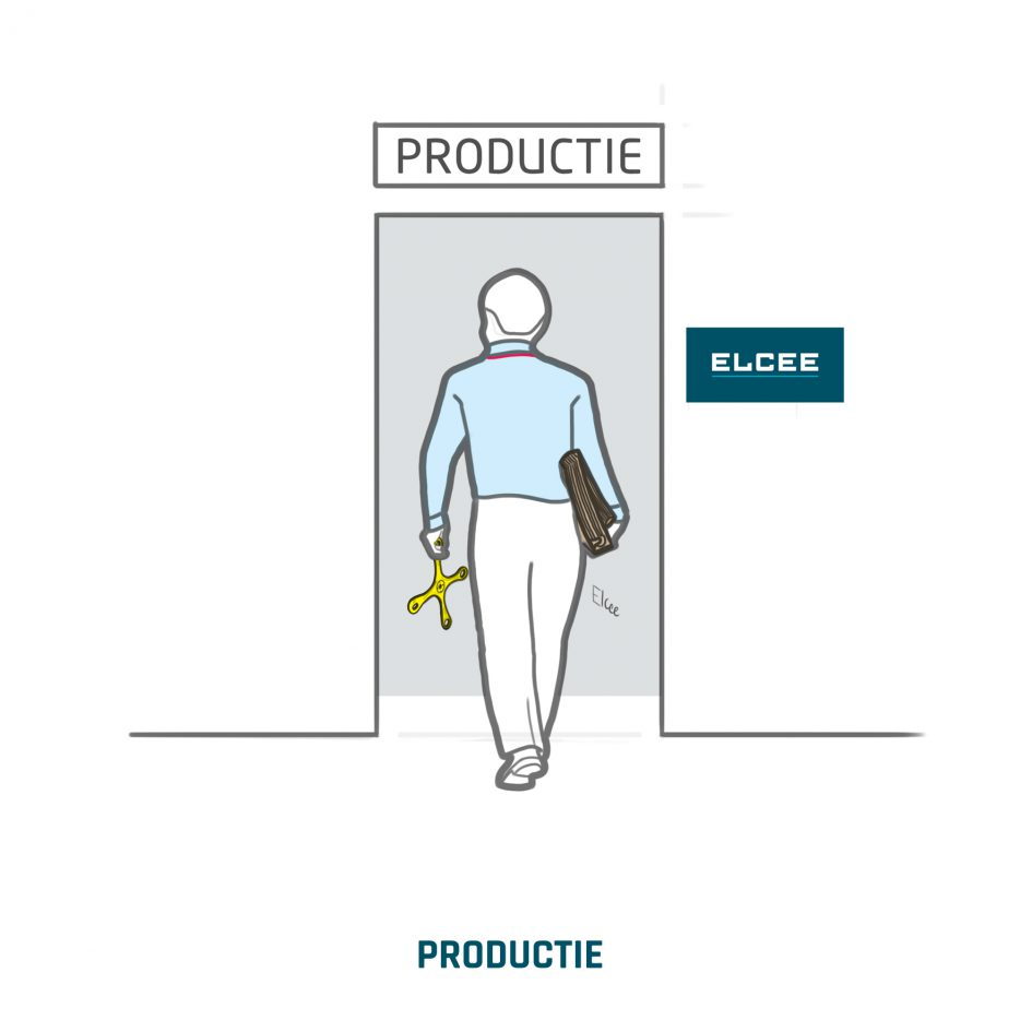 ELCEE PRODUCTIE industrieel component