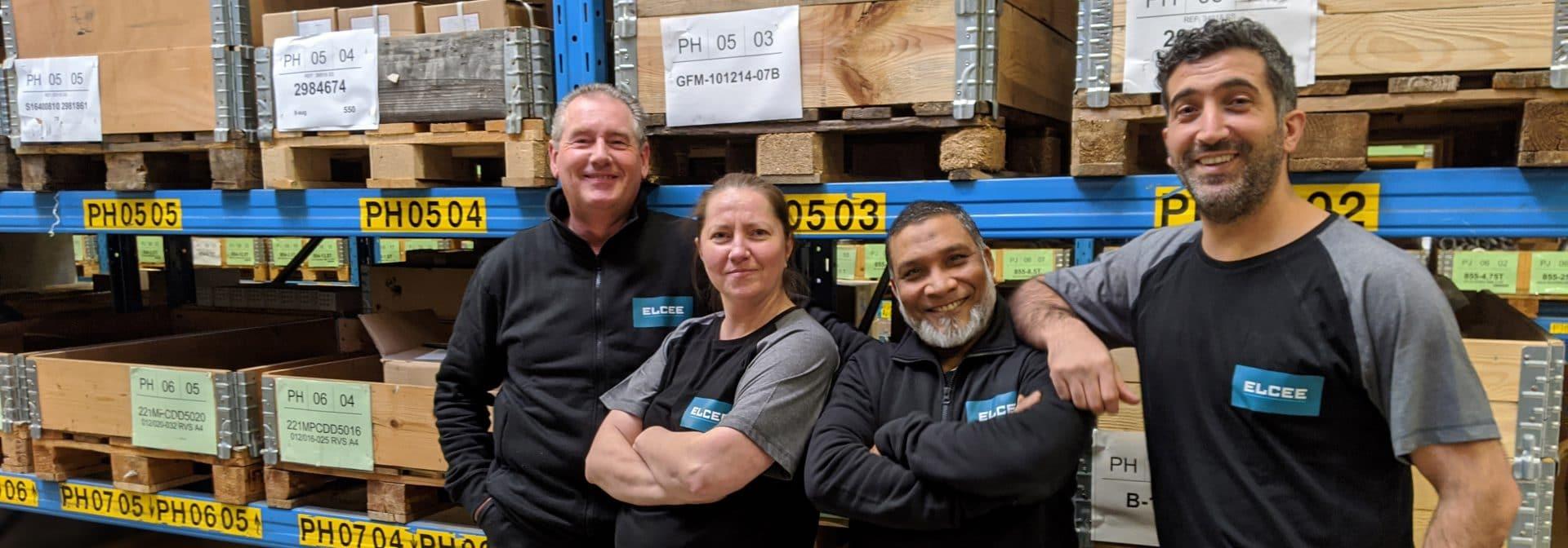 ELCEE warehouse medewerkers supply chain
