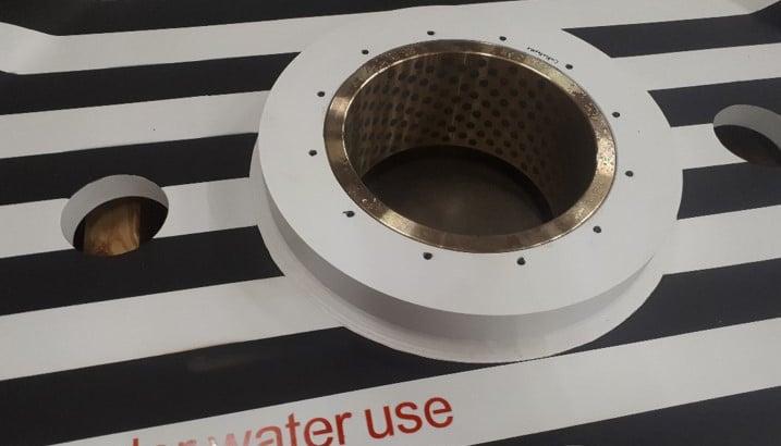 ELCEE self lubricated bronze plain bearings