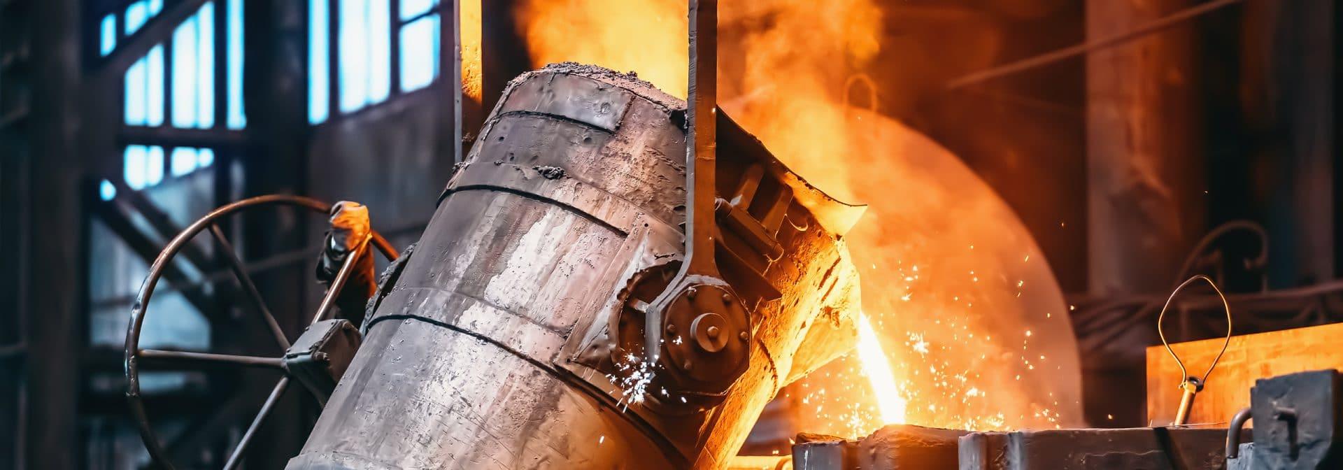 gietstukken van diverse materialen, zoals staal, roestvast staal, aluminium, ijzer, koper en kunststoffen