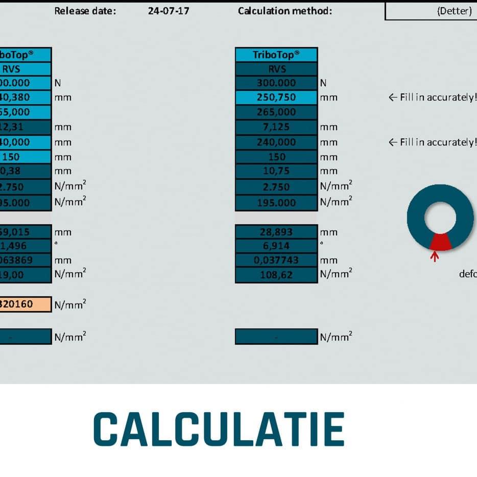 Calculatie glijlagers ELCEE