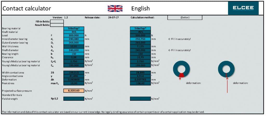 ELCEE calculatie sheet
